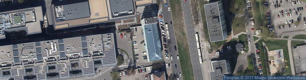 Zdjęcie satelitarne Transportowy Dozór Techniczny Oddział Terenowy w Warszawie