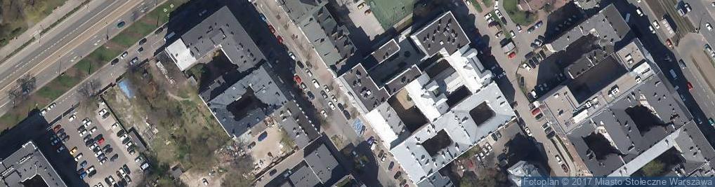 Zdjęcie satelitarne Urząd Marszałkowski Województwa Mazowieckiego Departament Eduka
