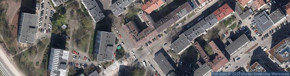 Zdjęcie satelitarne Urząd Marszałkowski Województwa Mazowieckiego Departament Środo