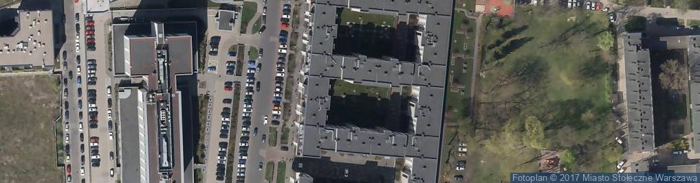 Zdjęcie satelitarne Marzena Michalska-Polkowska Kancelaria Radcy Prawnego