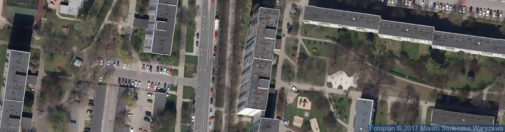Zdjęcie satelitarne WOD-KAN ZIBI Zbigniew Sikorski