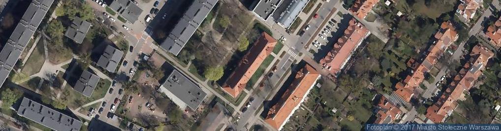 Zdjęcie satelitarne Departament Filmu Paweł Długołęcki