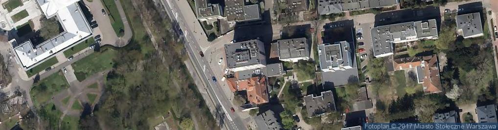 Zdjęcie satelitarne Hotel Belwederski ***