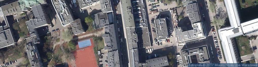Zdjęcie satelitarne Hotel Mazowiecki *