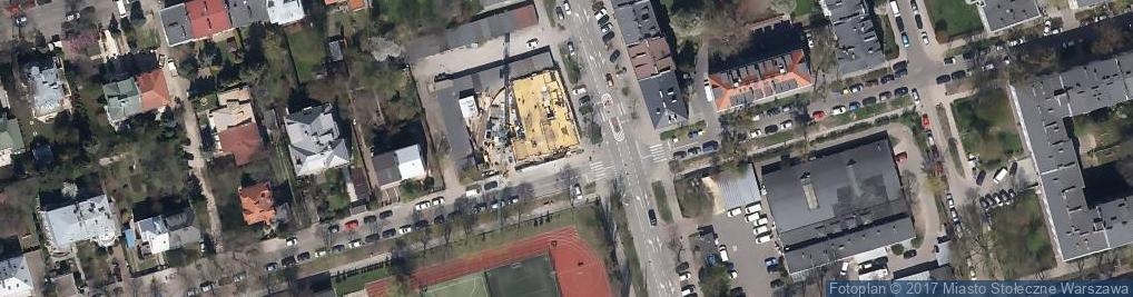 Zdjęcie satelitarne Motoryzacyjne Usługi Blacharskie i Powypadkowe