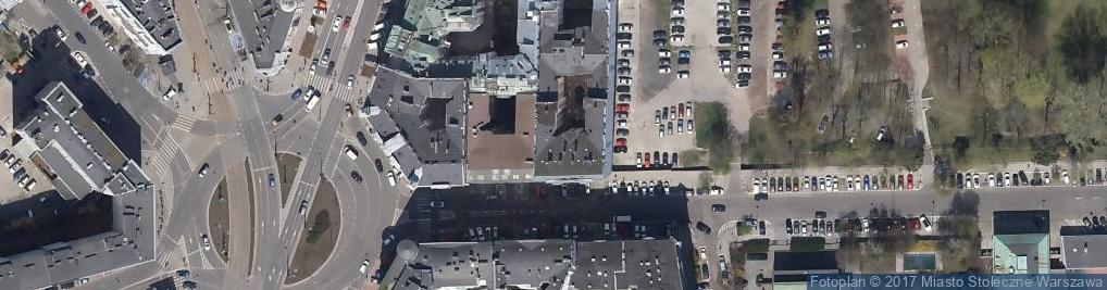 Zdjęcie satelitarne Bagatela