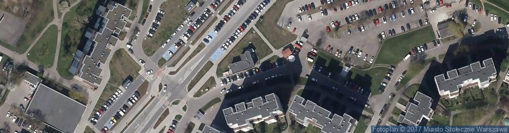 Zdjęcie satelitarne Całodobowa Klinika Weterynaryjna