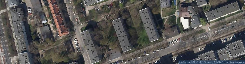 Zdjęcie satelitarne Usługi Sanitarno Weterynaryjne