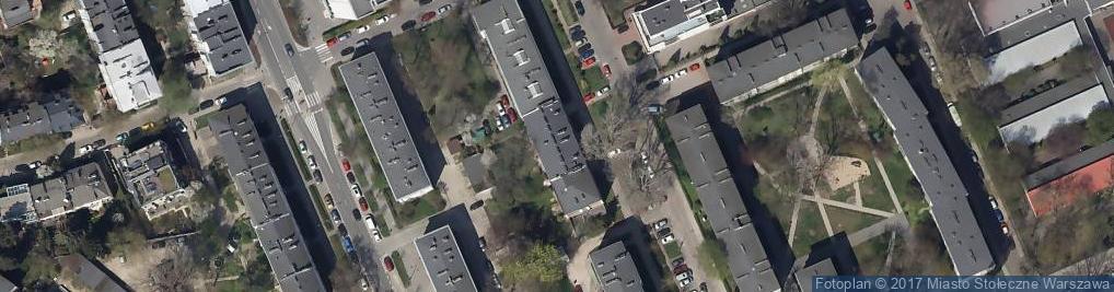 Zdjęcie satelitarne Zofia Raczak Usługi Weterynaryjne
