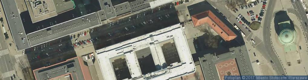 Zdjęcie satelitarne Centrum Attis