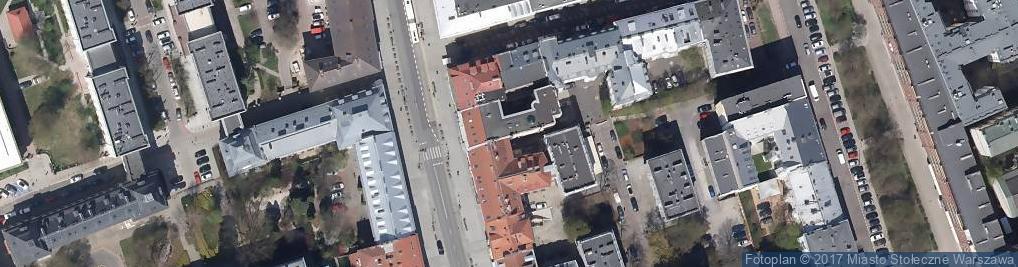 Zdjęcie satelitarne Wyższa Szkoła Dziennikarska im Melchiora Wańkowicza