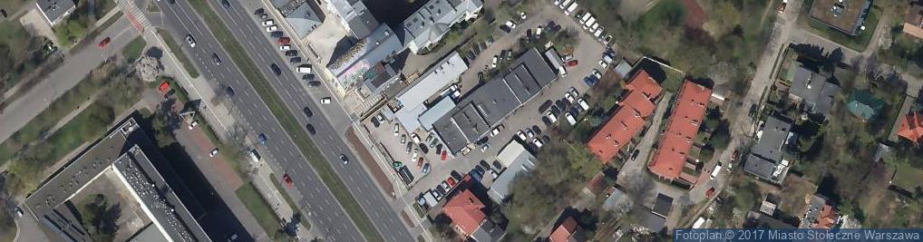 Zdjęcie satelitarne Wulkanizacja - Szymański Sylwester