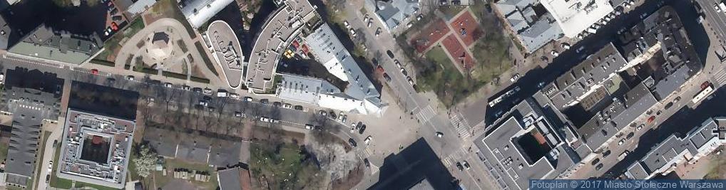 Zdjęcie satelitarne Dawny Dom Weteranów Powstania Styczniowego
