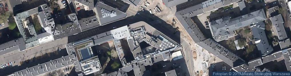 Zdjęcie satelitarne Dom Towarowy Braci Jabłkowskich