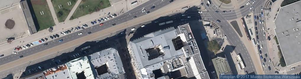Zdjęcie satelitarne Hotel Polonia