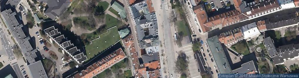 Zdjęcie satelitarne Kamienica