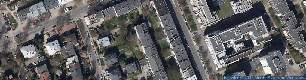 Zdjęcie satelitarne Fotografia biznesowa Cool Heads Warszawa
