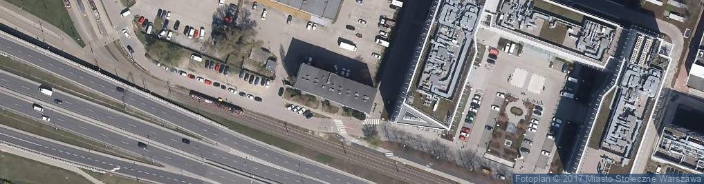 Zdjęcie satelitarne Studio Fotograficzne Warszawa Wynajem hypersmoki