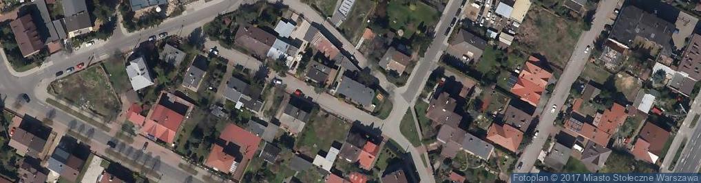 Zdjęcie satelitarne Krawiectwo Konfekcyjne Damskie i Męskie