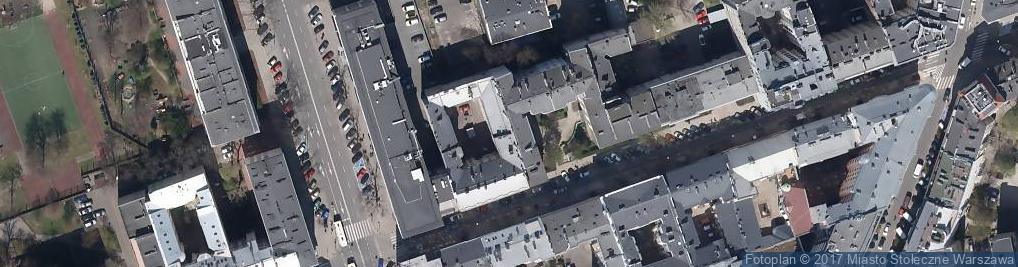 Zdjęcie satelitarne Biuro Usług Pogrzebowych Agaber Roman Szałat Marek Brzeszczak