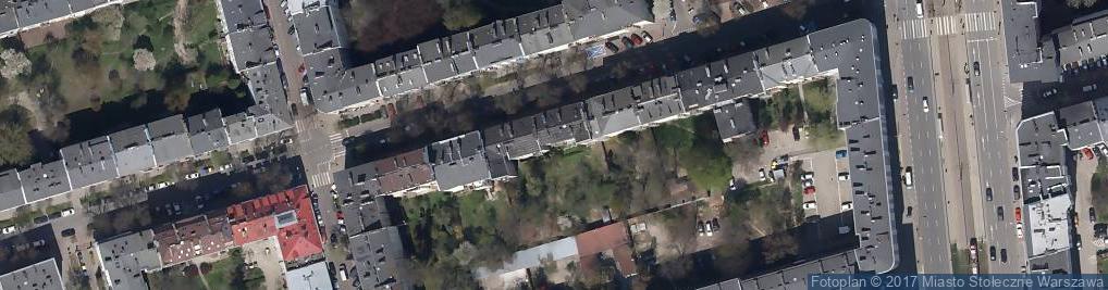 Zdjęcie satelitarne Zakład szewski