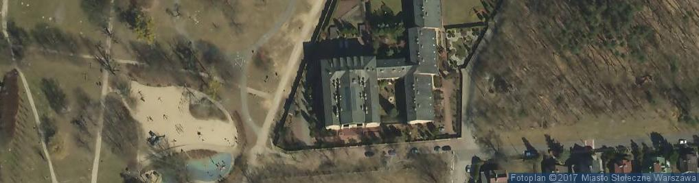 Zdjęcie satelitarne Służebniczki NMP