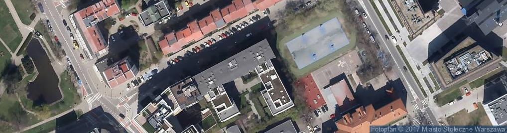 Zdjęcie satelitarne Ryszard Kozłowski - Zarządca i pośrednik w obrocie nieruchomości