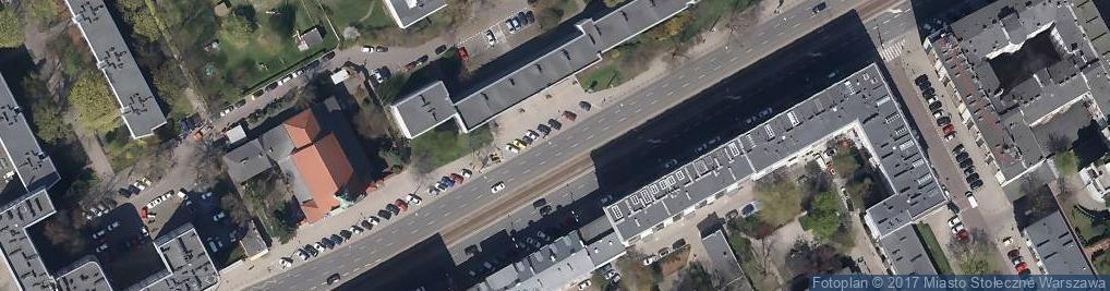 Zdjęcie satelitarne Bundesarchiv Bild 101I-134-0796-31, Polen, Ghetto Warschau, Ghettopolizist