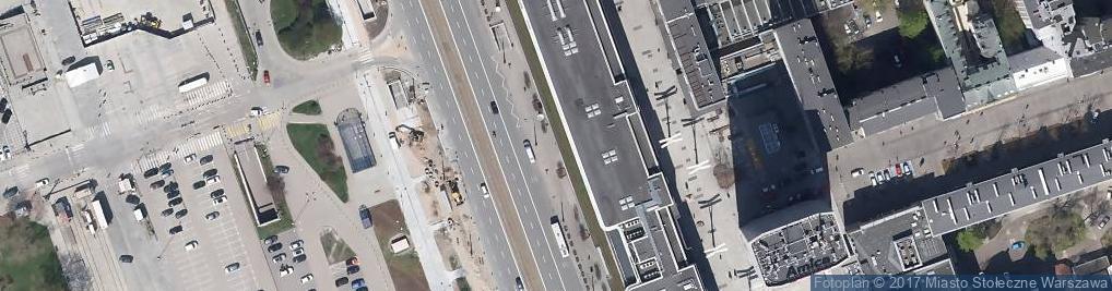 Zdjęcie satelitarne Domy Towarowe Centrum