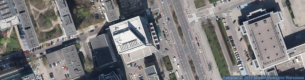 Zdjęcie satelitarne InterContinental Warszawa - windy
