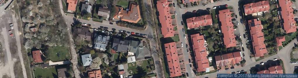 Zdjęcie satelitarne Kapliczka Warszawa Kurhan