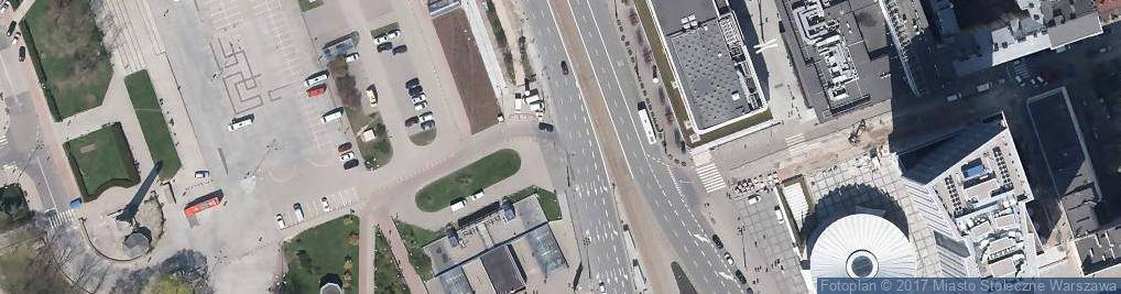 Zdjęcie satelitarne Marszałkowska