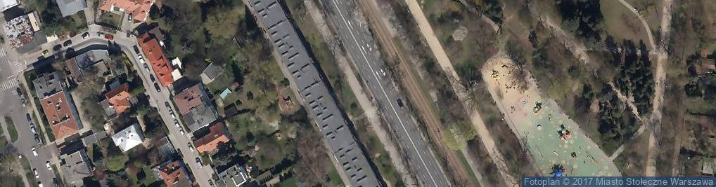 Zdjęcie satelitarne POL Jacek Kuroń flat