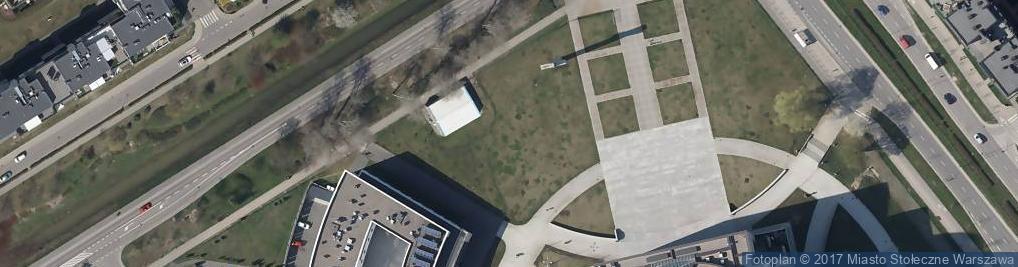 Zdjęcie satelitarne POL Świątynia Opatrzności Bożej 032007