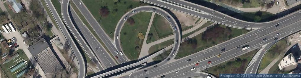 Zdjęcie satelitarne POL Warszawa Pomnik generala Berlinga