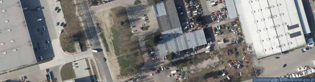 Zdjęcie satelitarne Pseudotsuga menziesii big tree Marki b