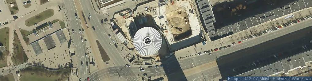 Zdjęcie satelitarne Rotunda memorial plate Warsaw