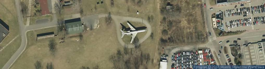 Zdjęcie satelitarne TU-134 CCCP-65600 (1)