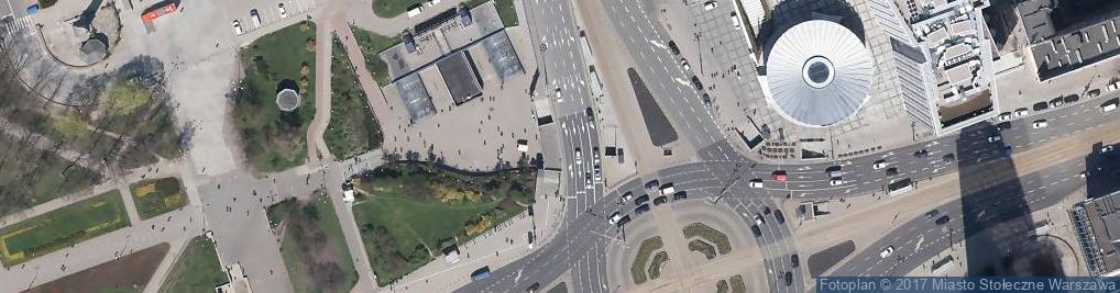 Zdjęcie satelitarne Warsaw Sw zgoda