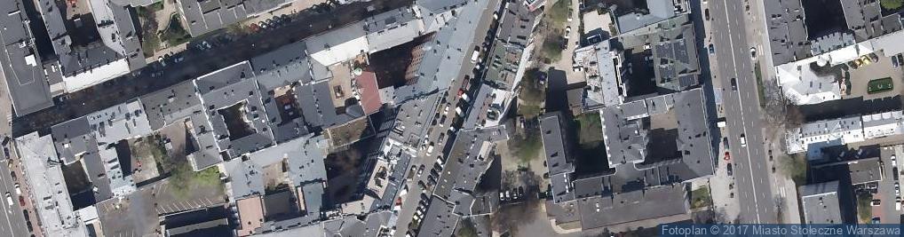 Zdjęcie satelitarne Warsaw Uprising - Bumbo of Ruczaj Battalion
