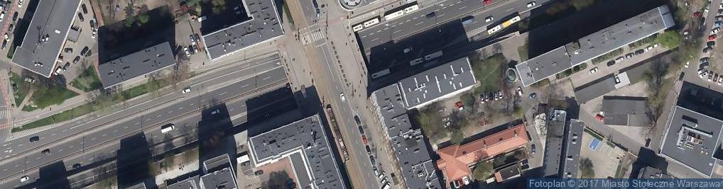 Zdjęcie satelitarne Warszawaxo4