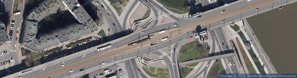 Zdjęcie satelitarne Wikipediatramwajewawa2