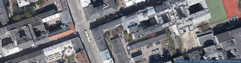 Zdjęcie satelitarne Wtw cały budynek