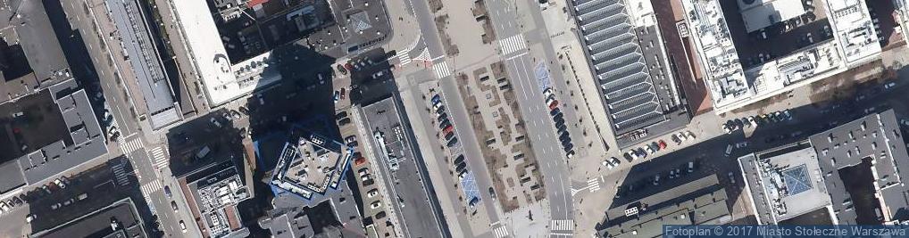 Zdjęcie satelitarne Zabezbieczony bank pl powstancow warszawy