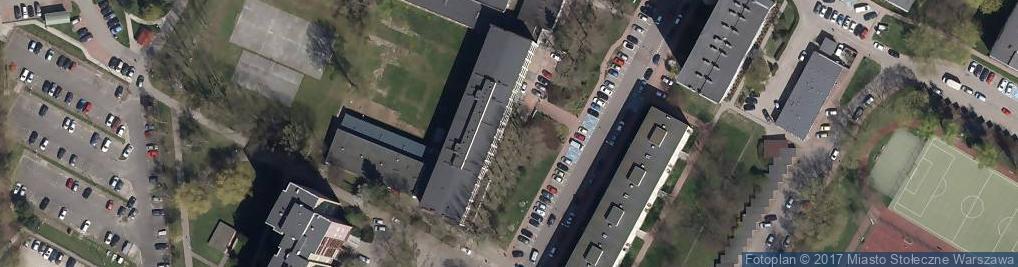Zdjęcie satelitarne Zespół Szkół Nr 26