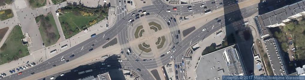 Zdjęcie satelitarne Zespół Szkół Specjalnych Nr 78 Im. Ewy Szelburg-Zarembiny