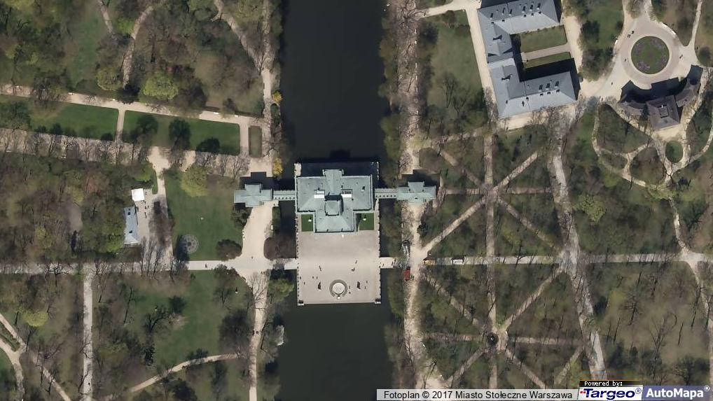łazienki Królewskie Pałac Na Wyspie Ul Agrykoli 1