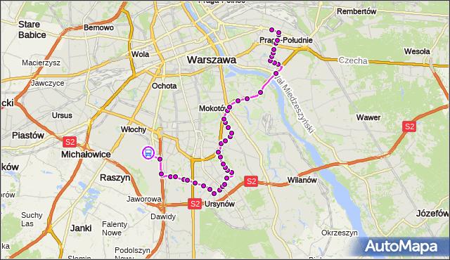 Rozkład jazdy autobusu 148 na przystanku Lotnisko Chopina-Przyloty 02. ZTM Warszawa na mapie Targeo