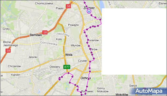 Rozkład jazdy autobusu 157 na przystanku pl.Inwalidów 02. ZTM Warszawa na mapie Targeo