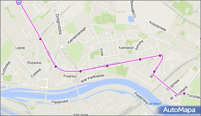 Rozkład jazdy autobusu 105 na przystanku Paprotna. MPKWroclaw na mapie Targeo